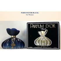 PARFUM D'OR BLACK FOR WOMEN 100ML